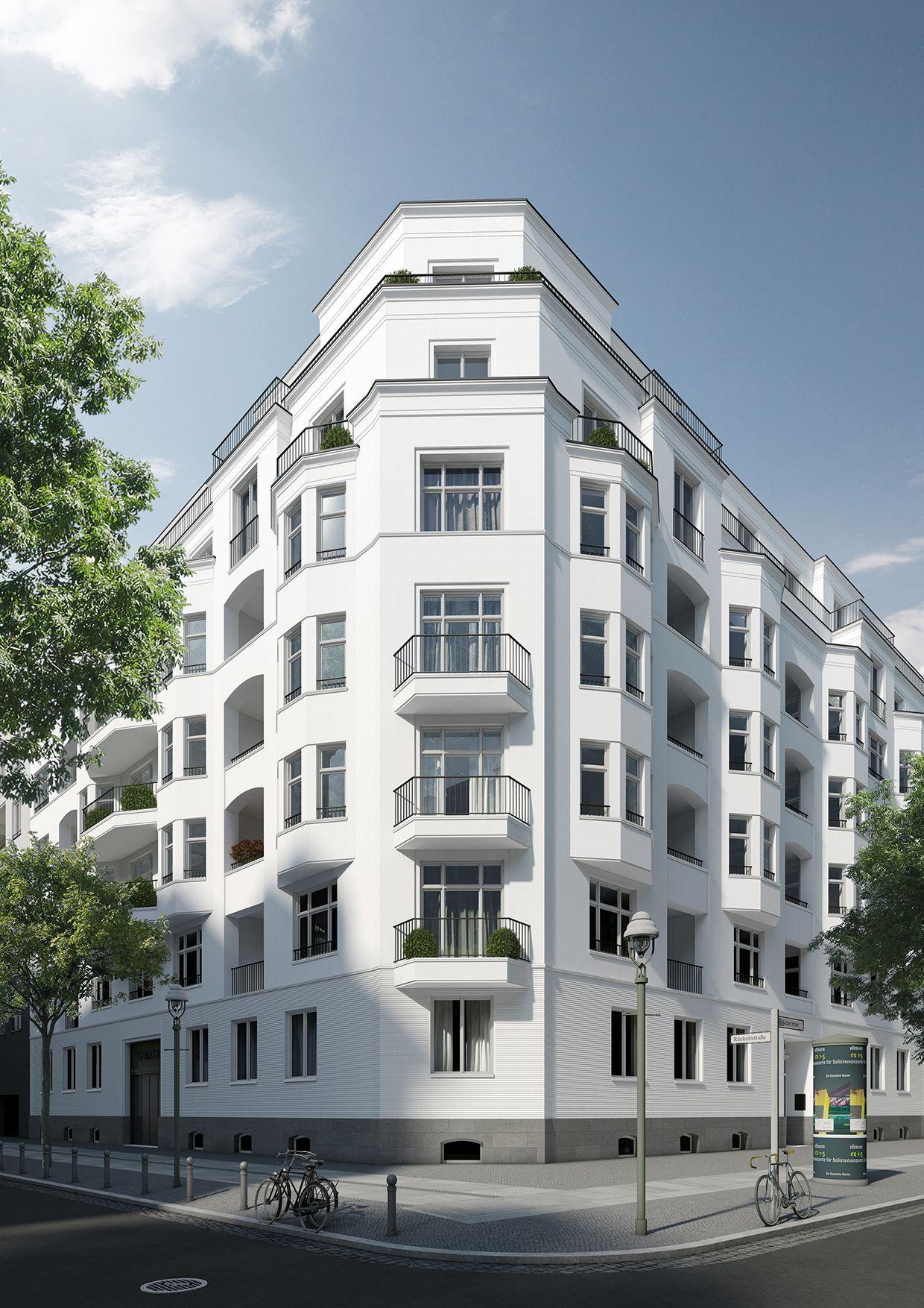 Design 54 Berlin wohnhaus mit 54 wohneinheiten in berlin charlottenburg exterior