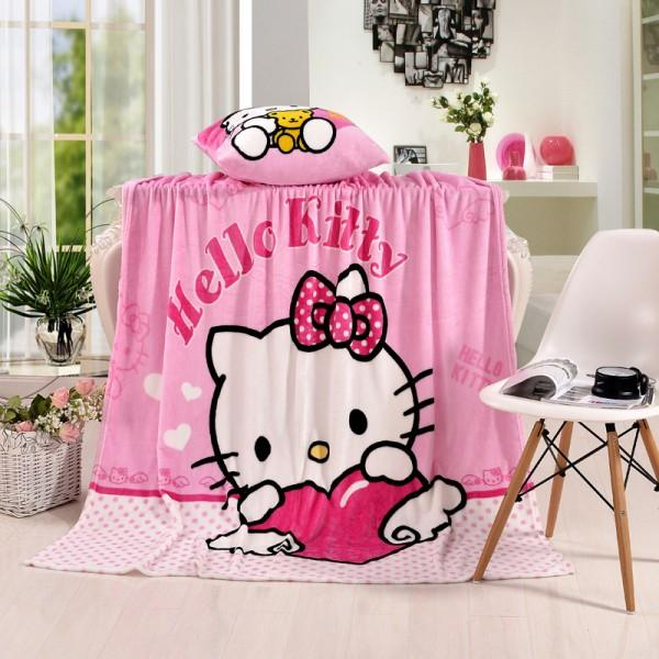 Hello Kitty Plush Flannel Blanket For Kids Twin Hello Kitty Plush Hello Kitty Blanket Pink Hello Kitty