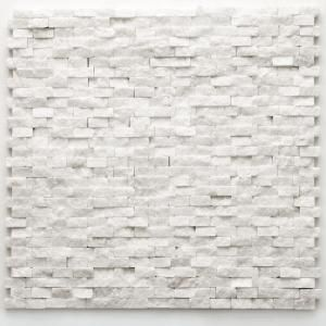 Small Size Ft Mesh Licator Solistone Modern Beaux 12 In X Quartzite Natural Stone Mounted Mosaic Wall Tile Sq At The Home Depot