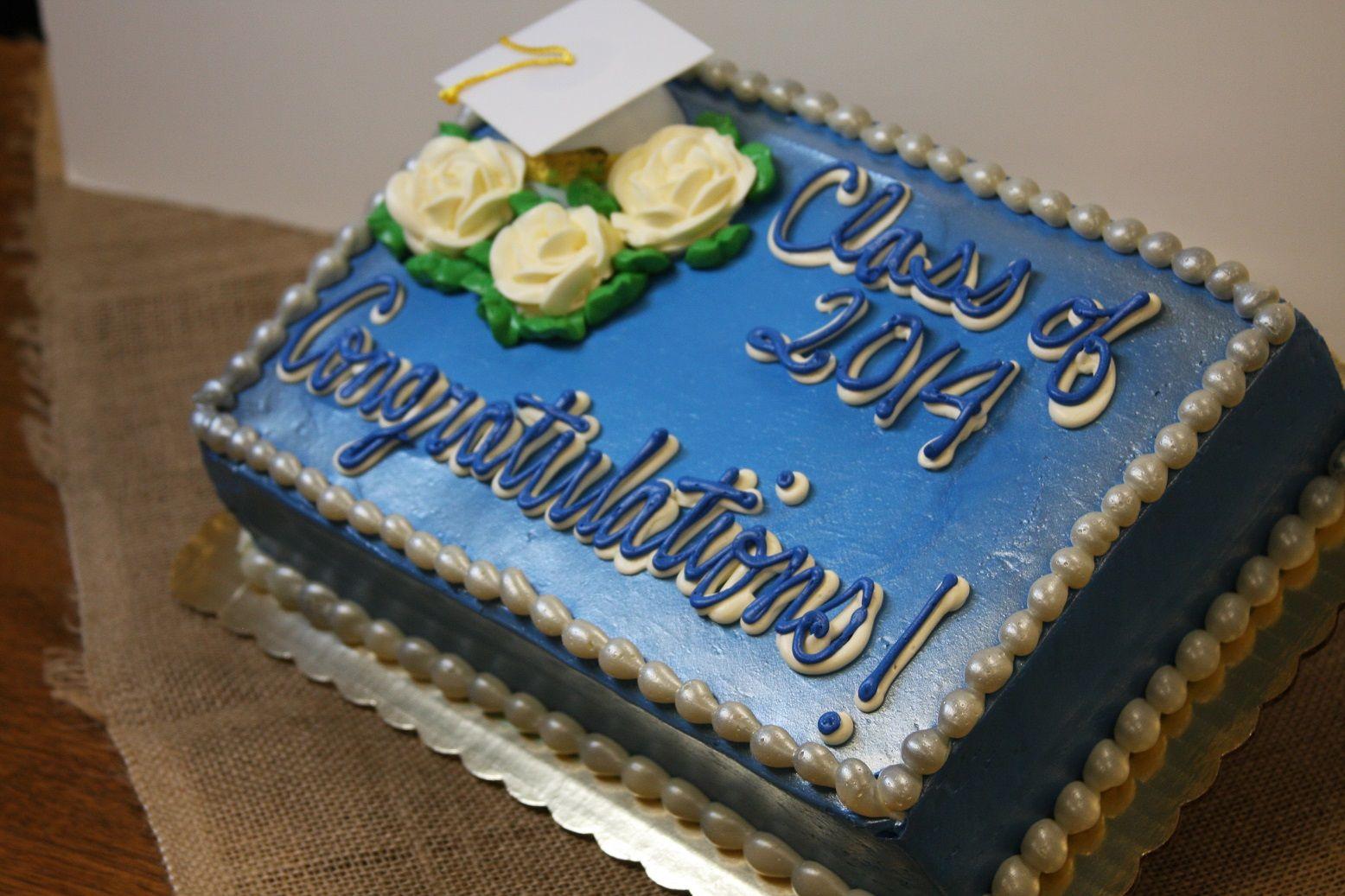 #1232  graduation Cake-like the colors