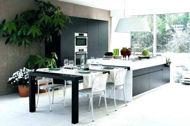 Table amovible cuisine great table escamotable charge kg with table amovible cuisine trendy - Grande table cuisine ...