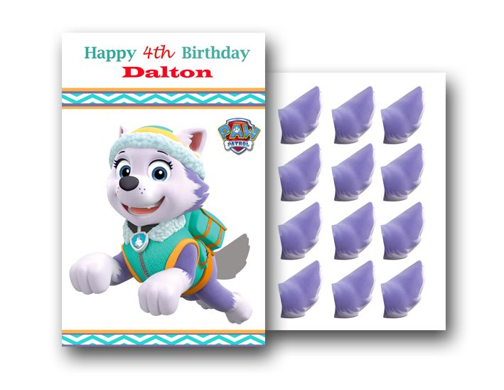 Personalized Paw Patrol Game PintheTail on Everest - Paw patrol everest party, Paw patrol birthday, Paw patrol party, Paw patrol, Paw patrol games, Everest paw patrol - ID 349 Personalized Paw Patrol Game PintheTail on Everest is completely customazible!!! Make your child's birthday special with the unique Paw Patrol Game PintheTail on Everest  Let me know if you'd like to change wording, colors, or fonts to fit your own personal style