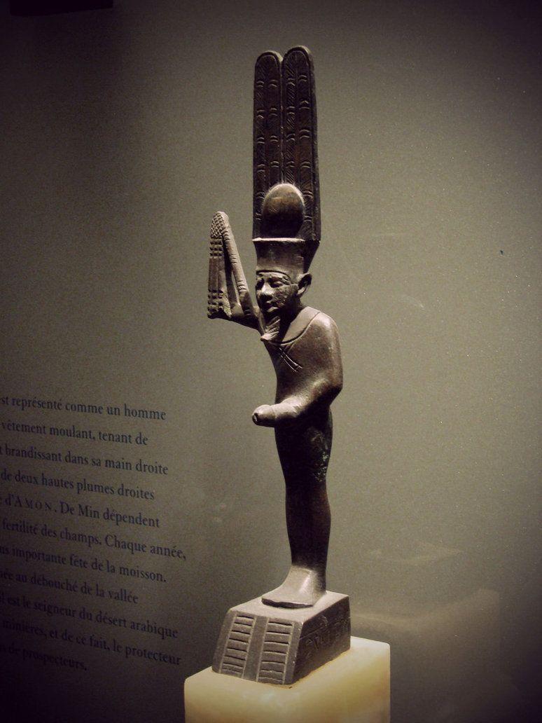 Minyptian God Of Male Virility Gods Goddesses And Spirits