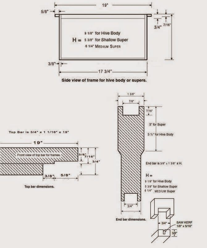 J c 39 s bees langstroth bee hive plans bee keeping for Beehive plans blueprints