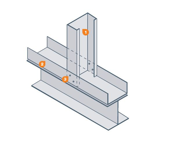 cold formed metal framing wall section diagram | Master Plan ARCH ...