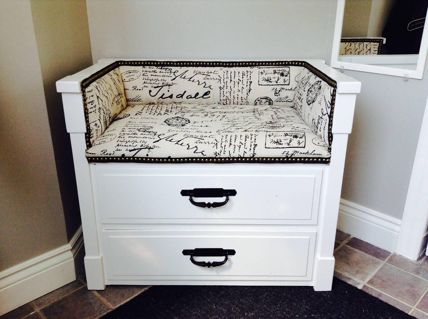 avant apr s transformer une commode en banc f rd szoba pinterest furniture dresser s. Black Bedroom Furniture Sets. Home Design Ideas