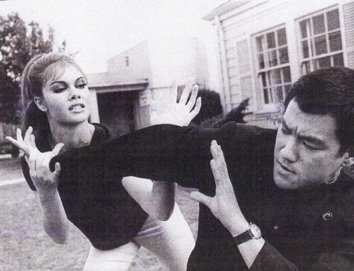 Sharon Tate & Bruce
