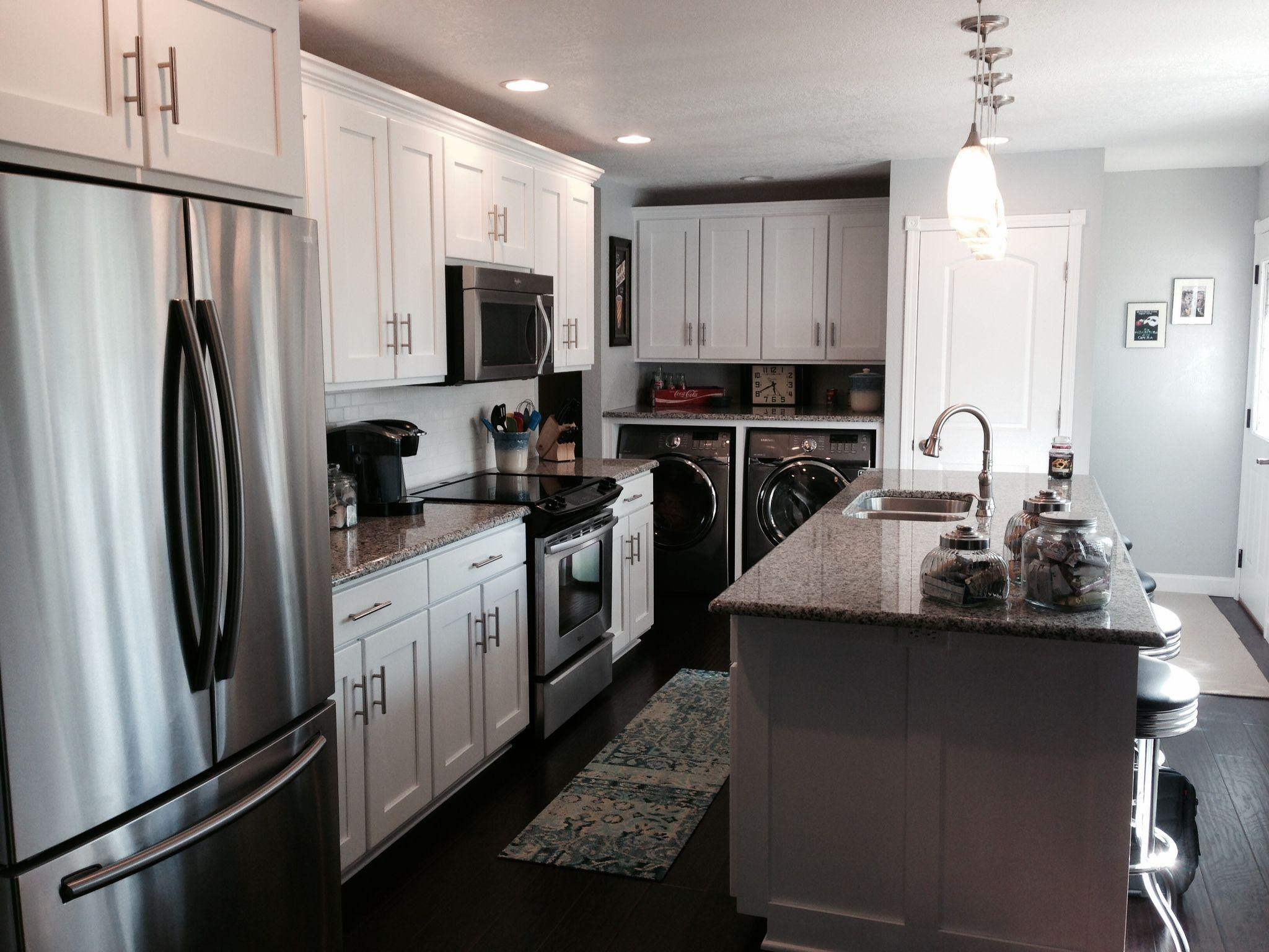 White Color Varnish Kitchen Design Home Decor Kitchen Cabinets