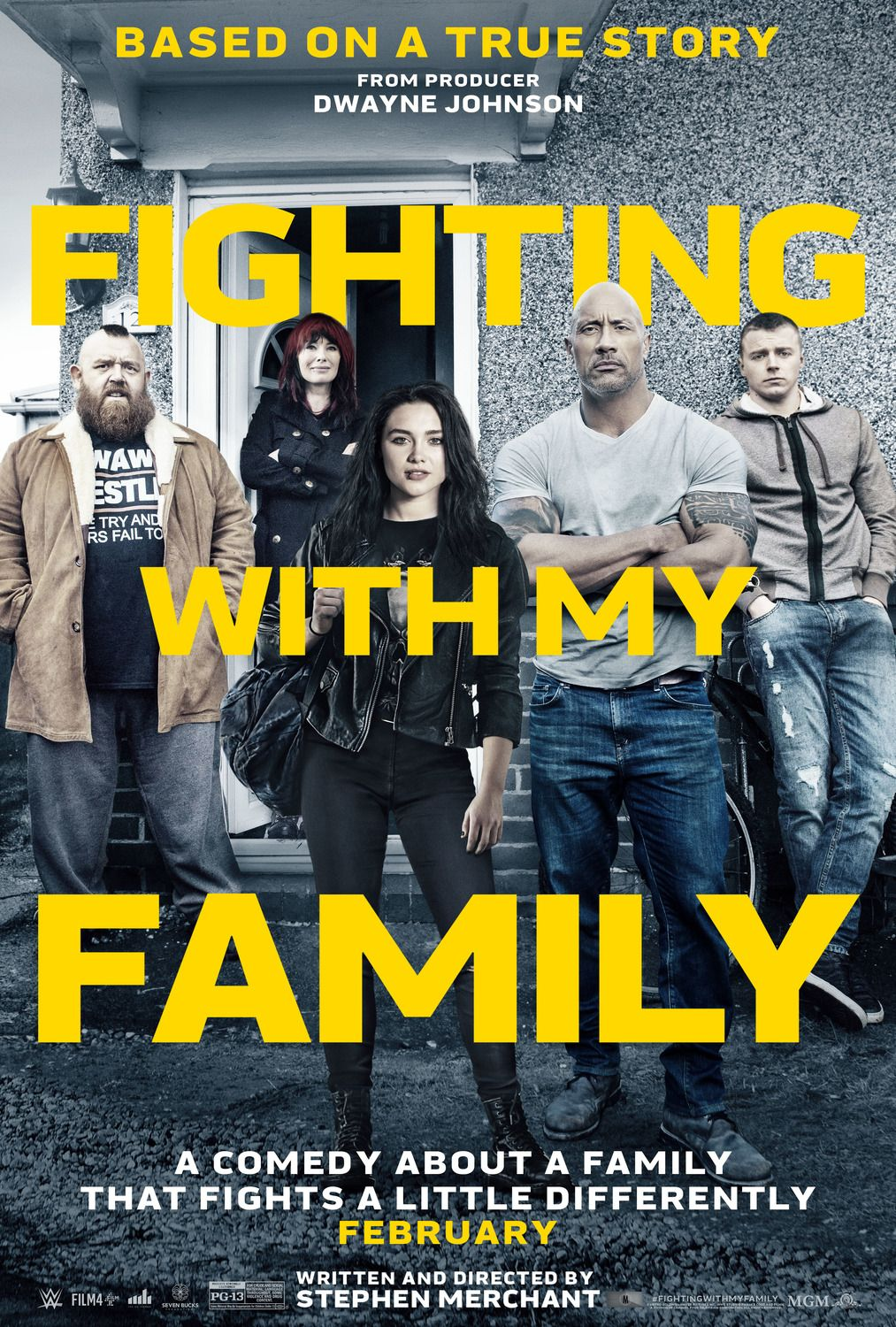 Fighting With My Family Movie Poster Https Teaser Trailer Com Movie Fighting With My Family Starring Florence Pug Familienfilme Ganze Filme Filme Stream