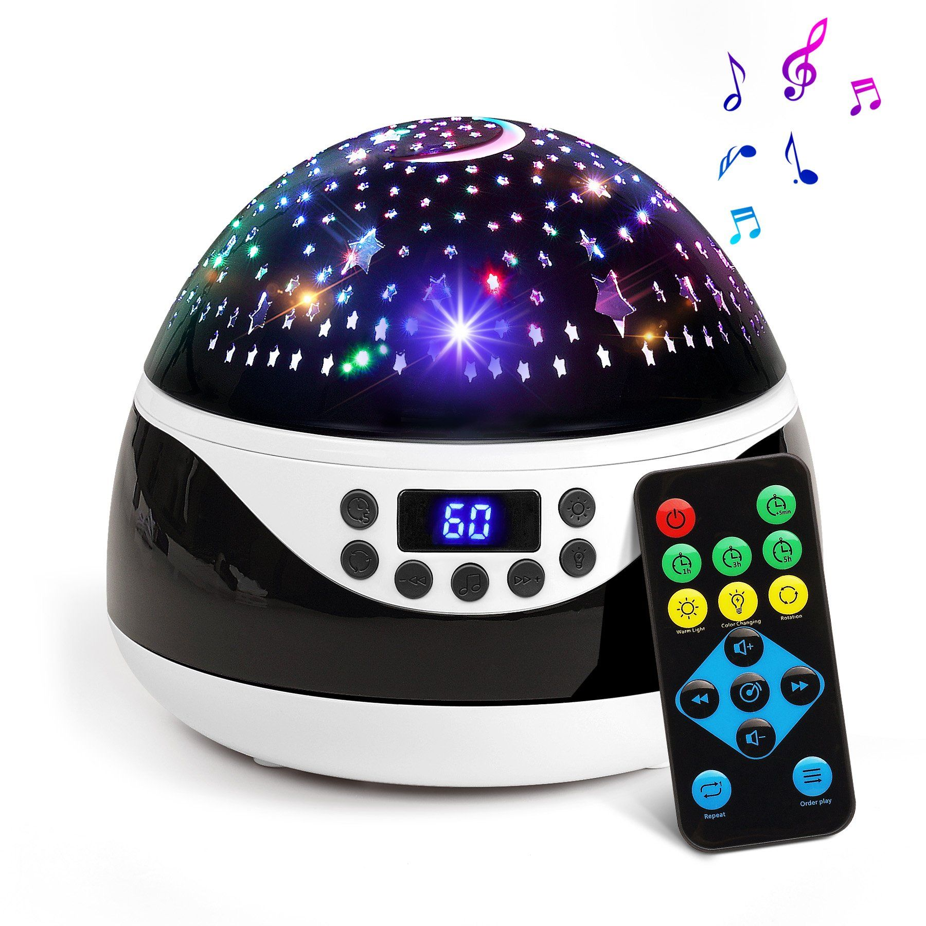 2018 Newest Baby Night Light Ananbros Remote Control Star