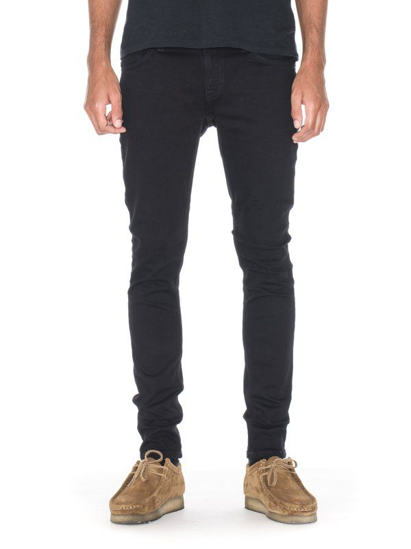 4f746d86dc90 Our classic black stretch denim option. The original fabric is a deep  indigo dye