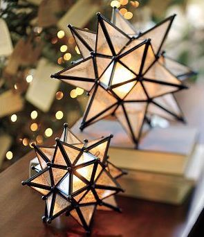 Beautiful Moravian Star Lamps The Moravian Star Is An