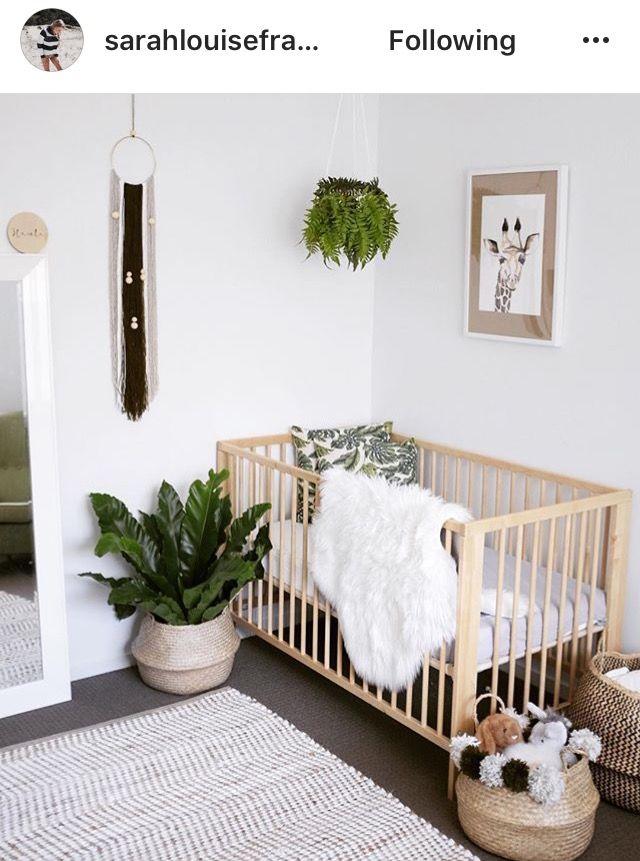 Botanical Neutral Unisex Nursery Inspiration Baby Nursery Decor