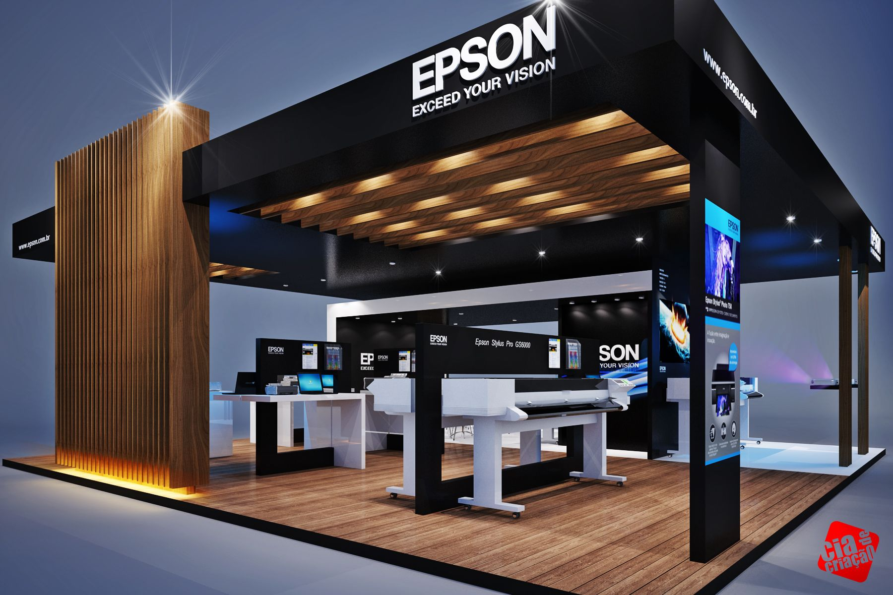 Exhibition Stand Design Kenya : Creative exhibit trade show booths created by