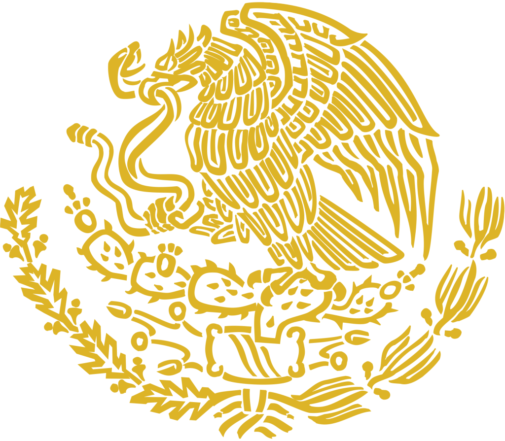 File Coat Of Arms Of Mexico Golden Linear Svg Wikimedia Commons Coat Of Arms Mexican Flag Eagle Mexican Culture Art