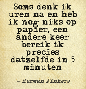 Herman Finkers Translates To Sometimes I Think For