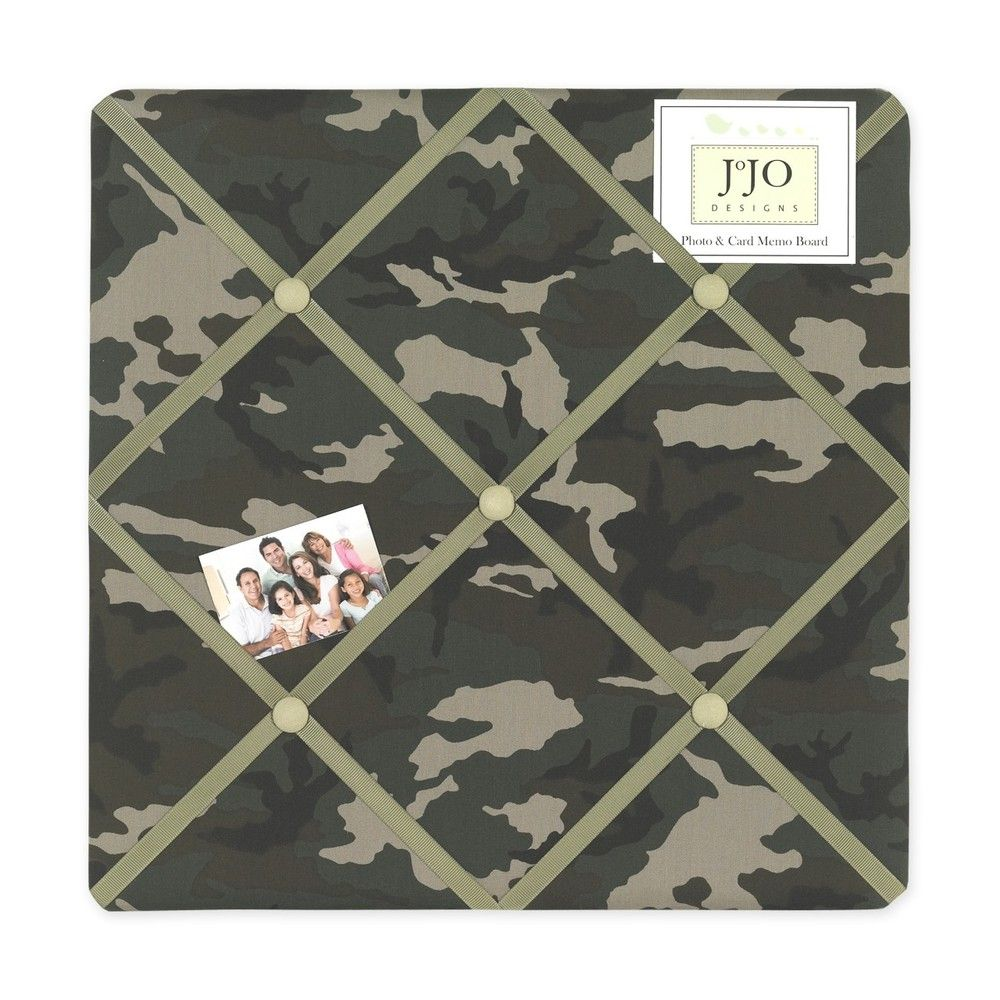 Green Camo Army Military Camouflage Fabric MemoryMemo Photo