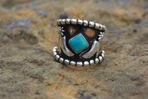 Heels and Spurs #sterlingsilver #antiquedcopper #turquoise