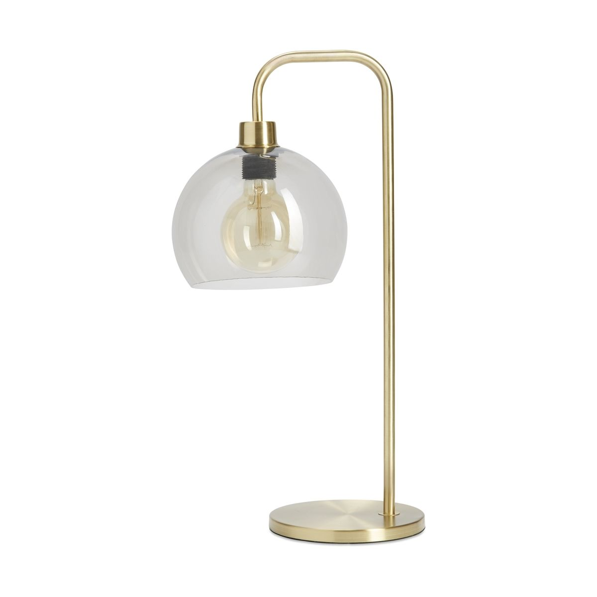 Brass Look Table Lamp Kmart Lamp Table Lamp Brass Table Lamps