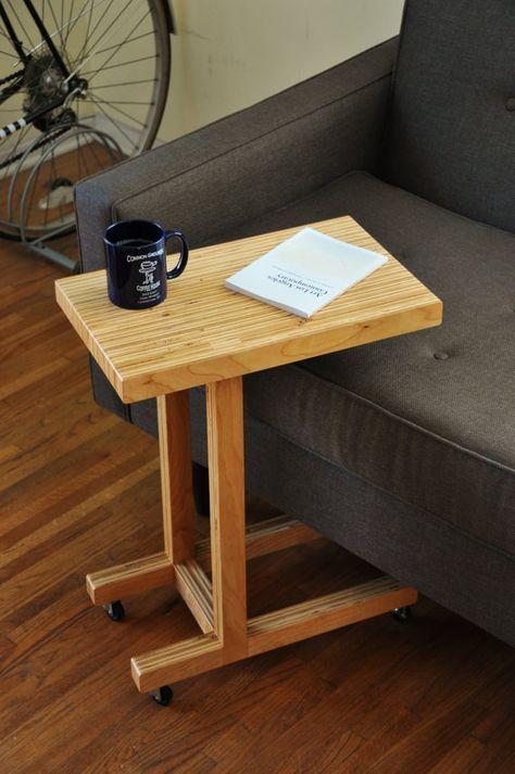 Mesa de madera hecha a mano Más Homee Pinterest Mesa de madera