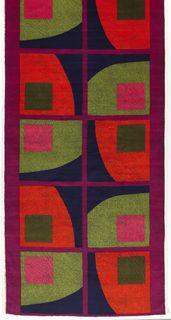 "Textile, ""Ginza"", 1965 by Hans Krondahl"