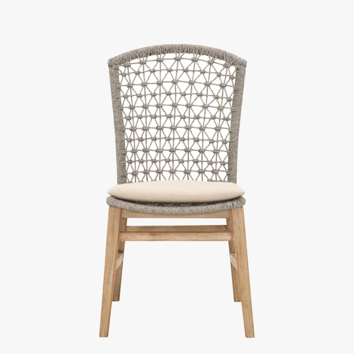 Set of Two Addie Platinum Dining Chairs | Dining chairs, Dining sets ...