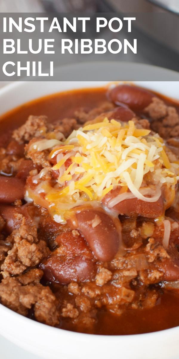 Instant Pot Chili Ground Beef Chili Recipes Instant Pot Beans Recipe Basic Chili Recipes