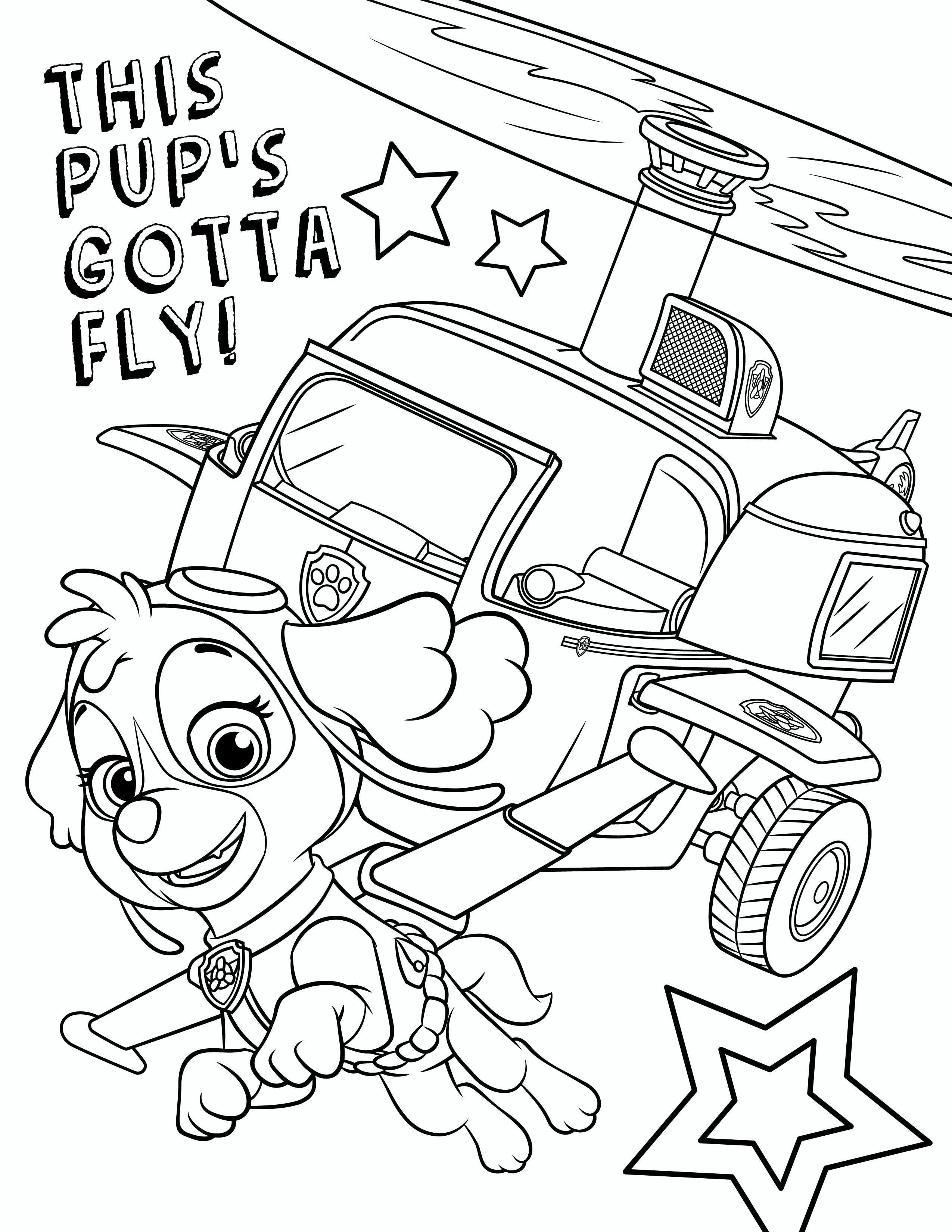 10 Paw Patrol Paw Patrol Coloring Pages Birthday Coloring Pages Paw Patrol Coloring