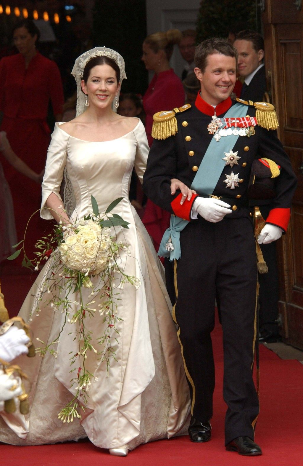 The Wedding Day Crown Princess Mary Prince Frederik Of Denmark