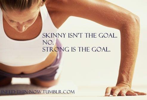Strong is the goal!  http://www.BayportMartialArts.com