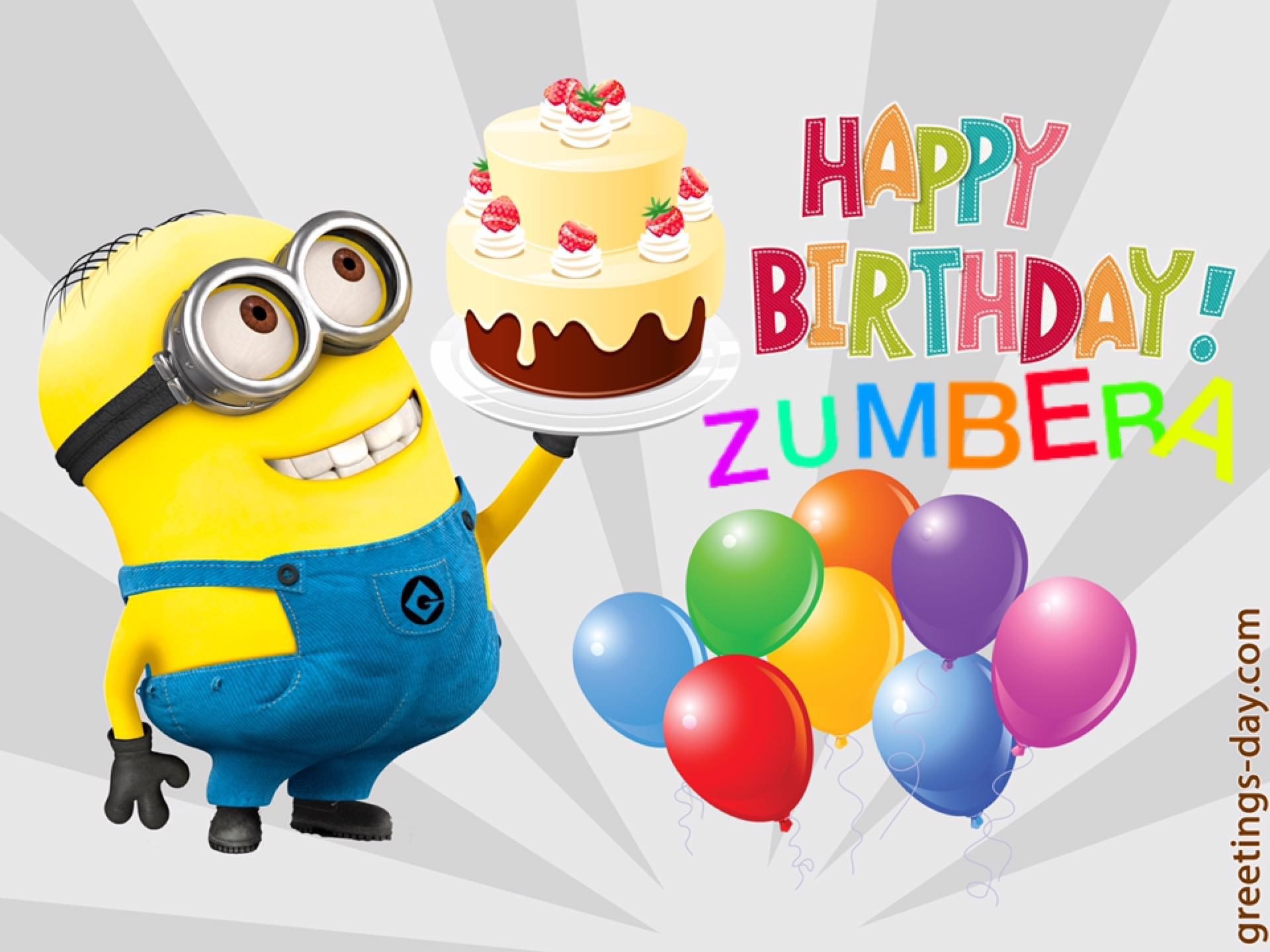 Love sending bday greetings to all my zumberas love sending bday greetings to all my zumberas kristyandbryce Image collections
