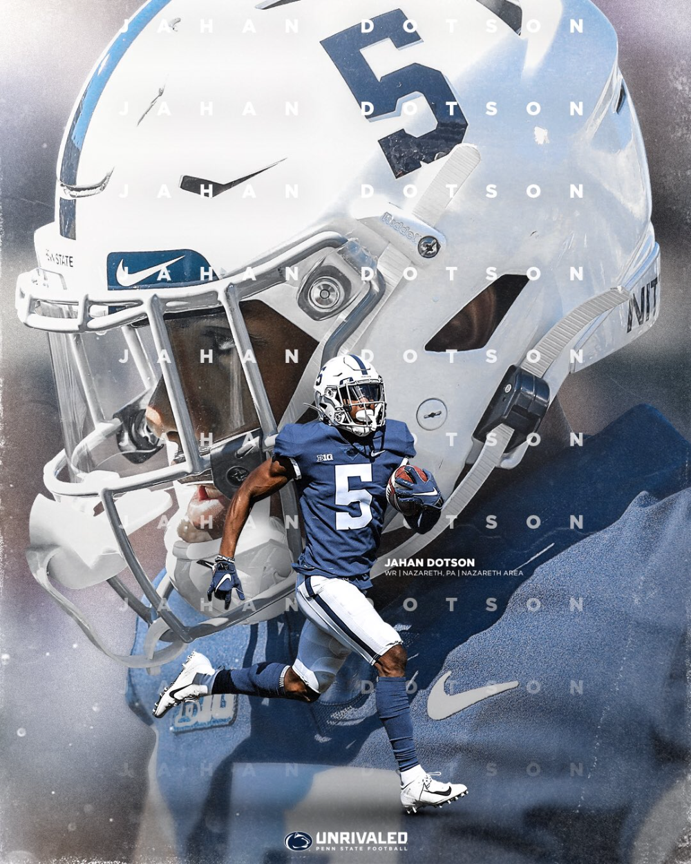 Penn State Football On Twitter In 2020 Penn State Football Sports Graphic Design Penn State Football Players