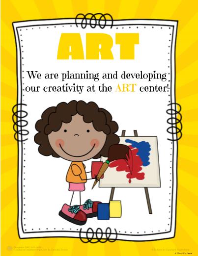 Pre-K Kinder Center Signs | prek | Classroom center signs ...