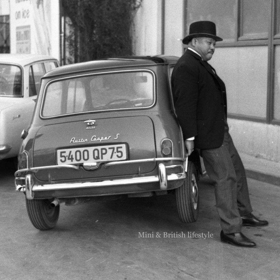 Oddjob From James Bond Goldfinger Bond Mini Morris Rover Mini