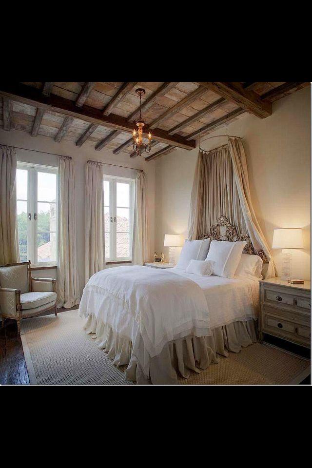 Beautiful Romantic Bedrooms: Romantic & Beams