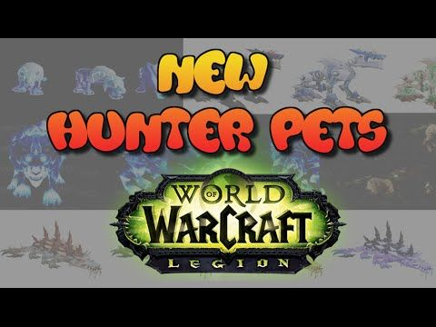 nice All New Legion Hunter Pets So Far! Pets, World of