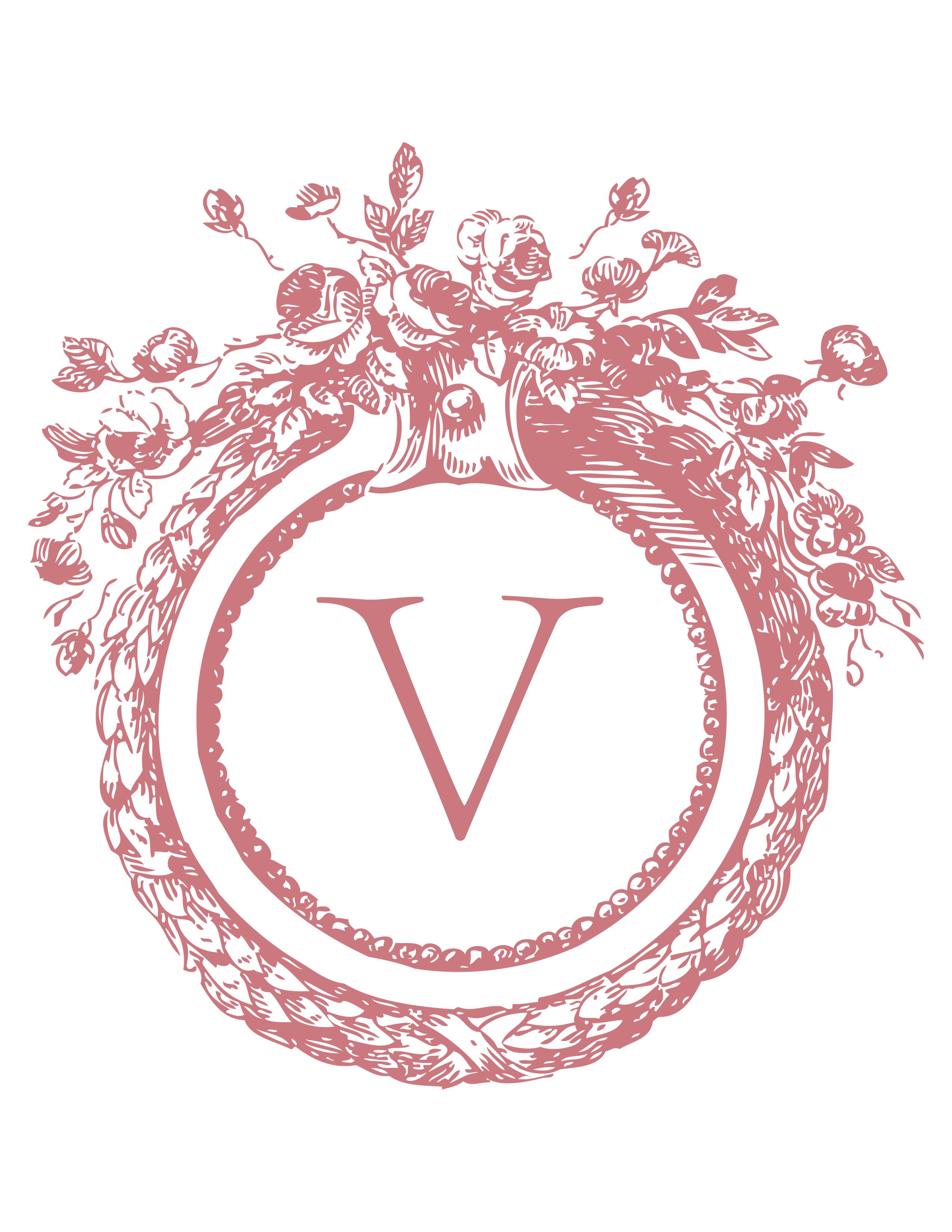 V monogram | V for me! | Pinterest | Monograms, Embroidery and ...