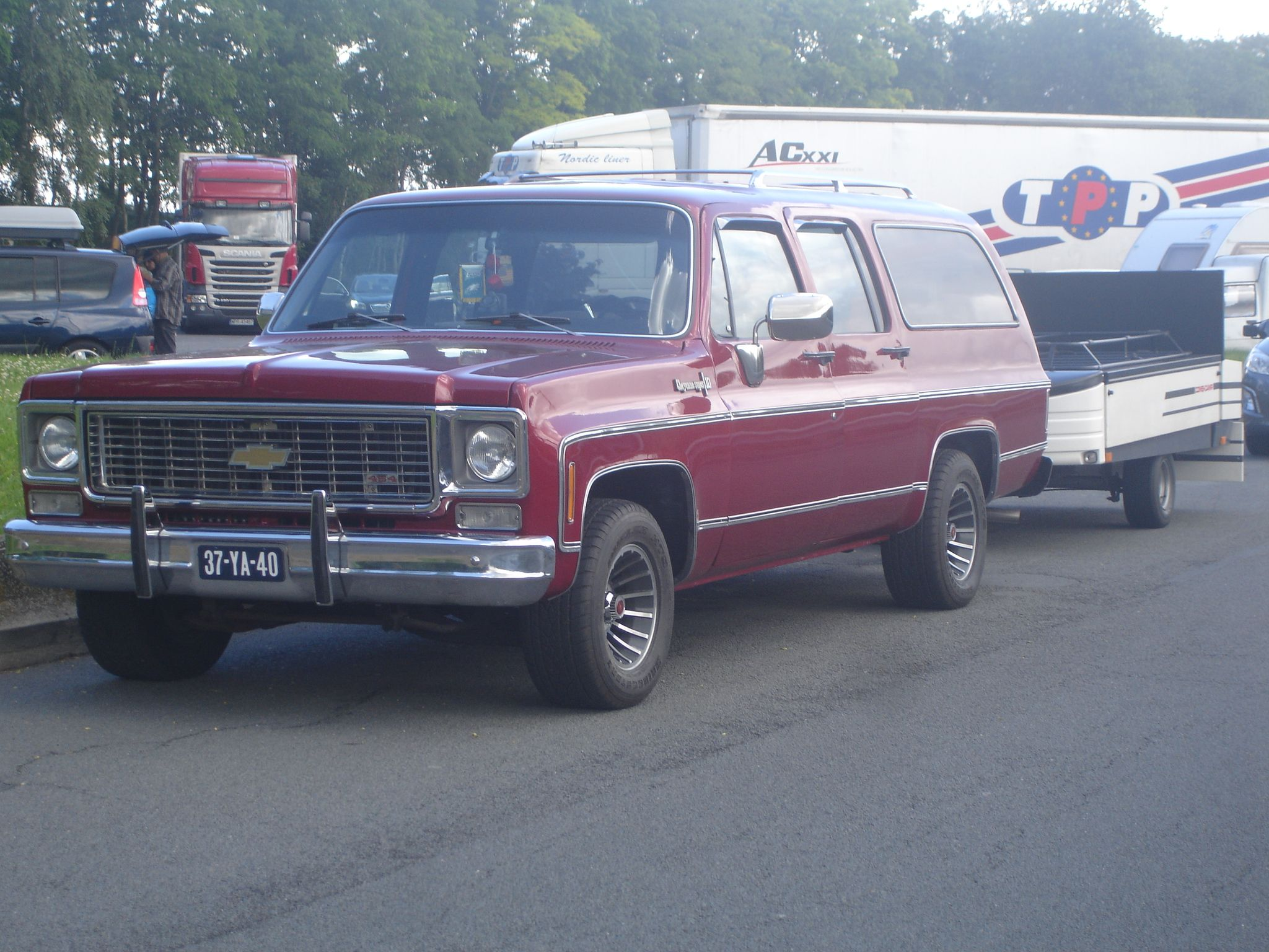 1974 Chevrolet suburban 454