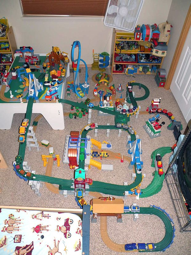 Fisher Price Cars Geotrax Instructions