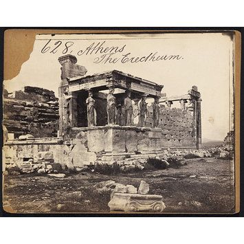 Athens The Erectheum (Photograph) 1850s to 1870s (photographed) Artist/Maker:Francis Frith, born 1822 - died 1898