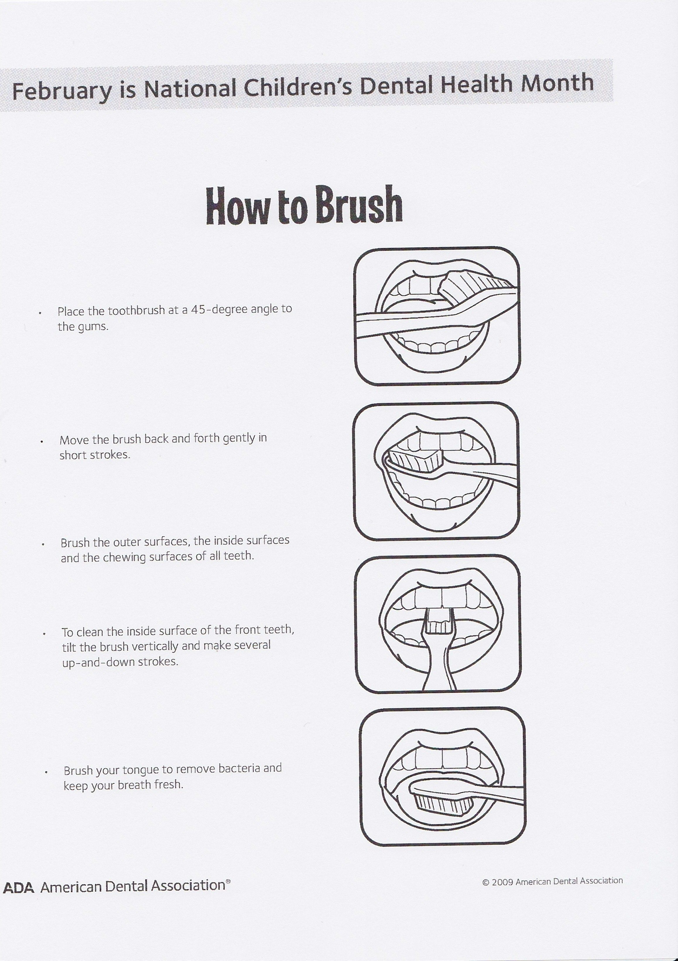 How To Brush For Kids
