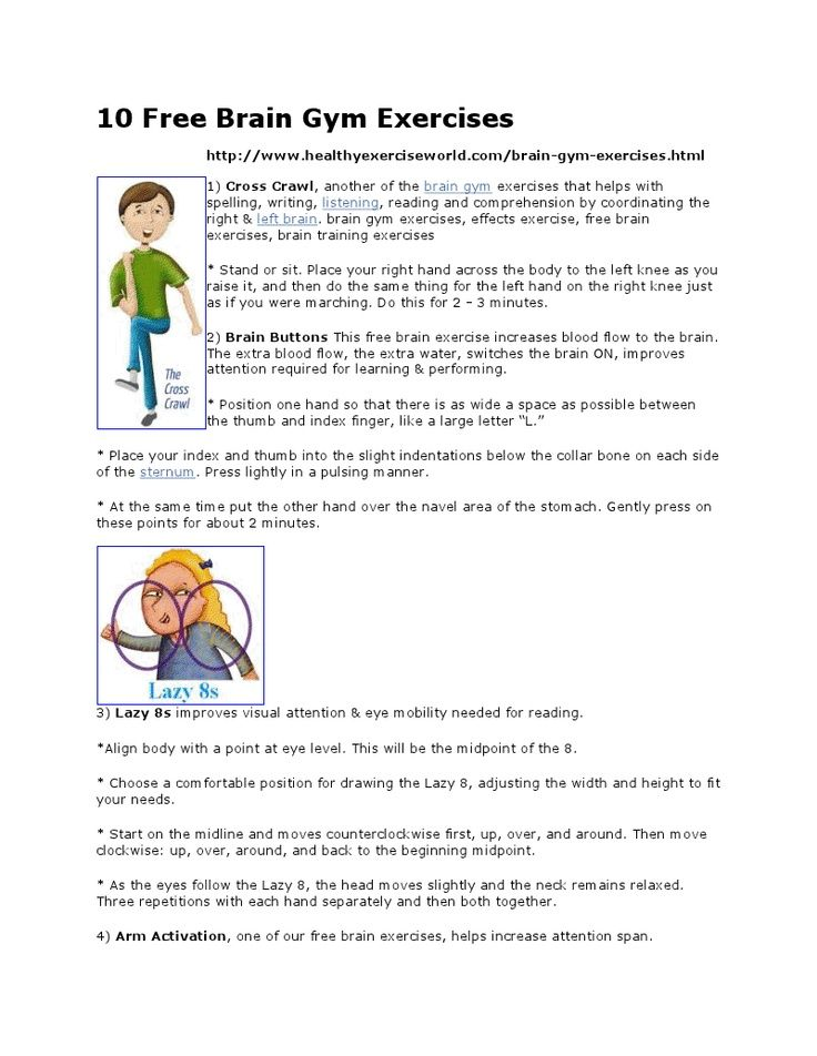 Brain Gym Exercises And Further Resources Brain Gym Brain Gym Exercises Whole Brain Teaching