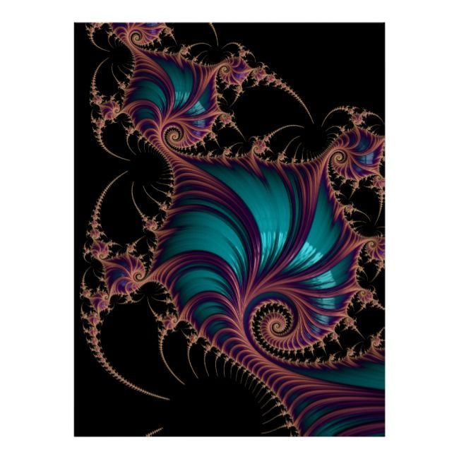 """Photo of """"Fractal Jewelry"""" Posters 