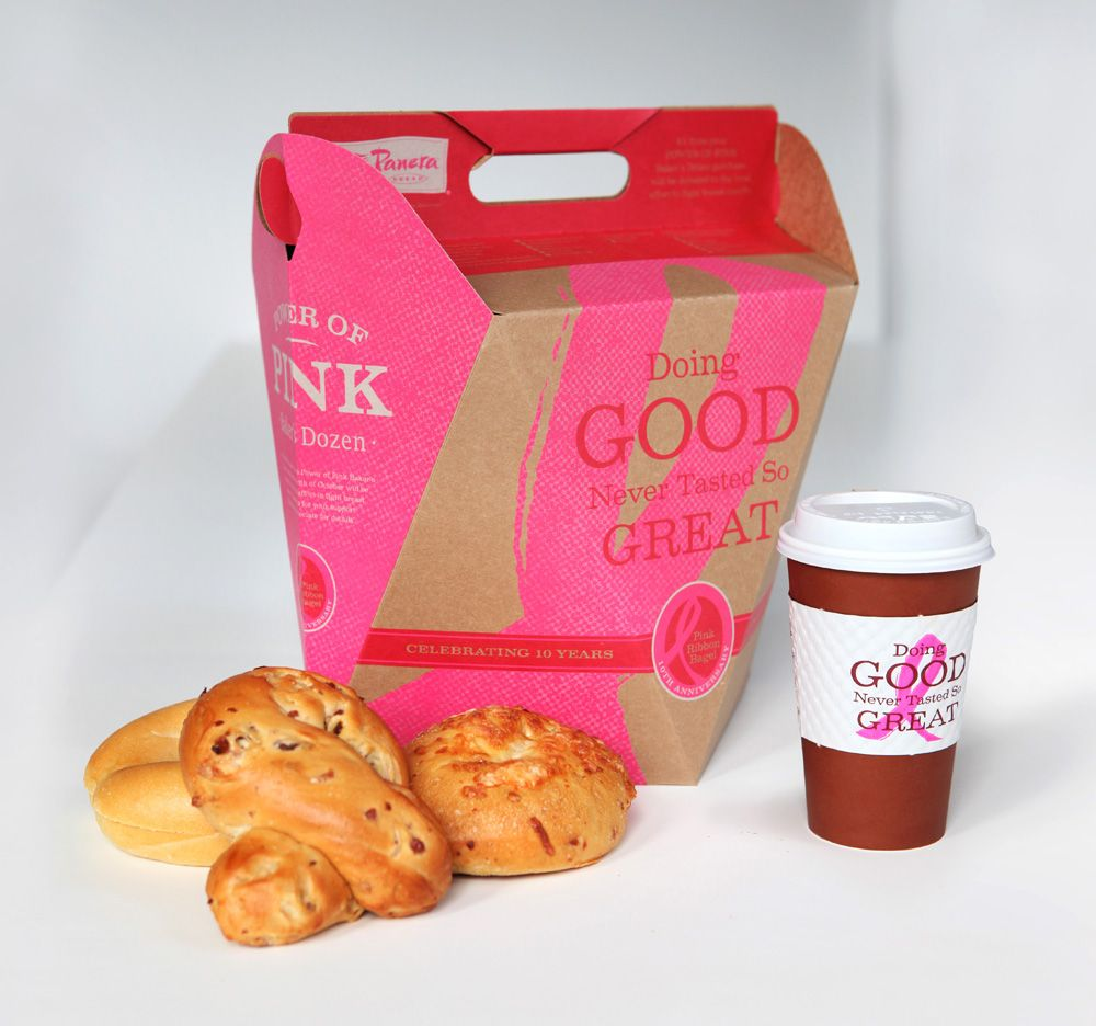 Panera Bread Coffee Box Fascinating Panera Bread Bagel Box  Google Search  Packaging  Pinterest Decorating Inspiration