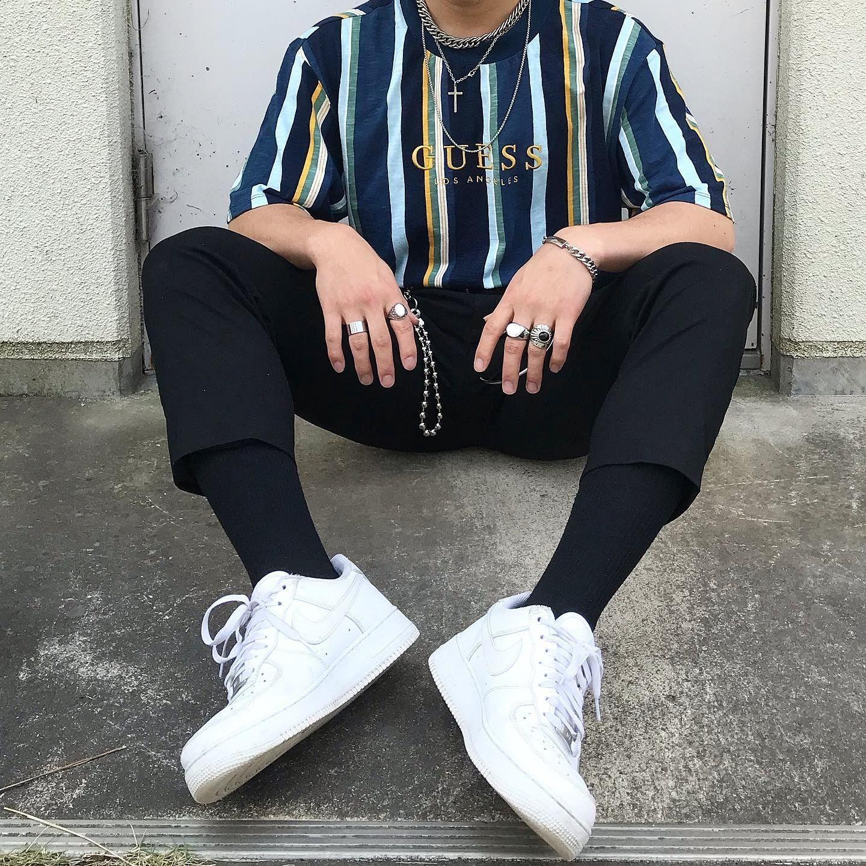 originals oversized sayer striped tee in 2020  streetwear