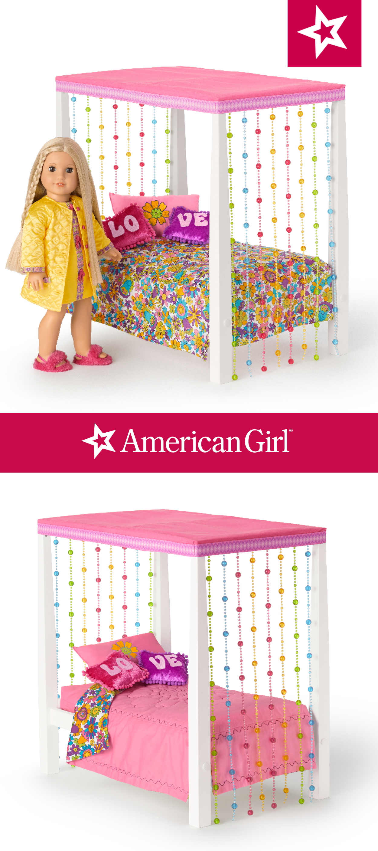 American Girl Beforever Melody/'s Table and Chairs NIB Doll Not Included