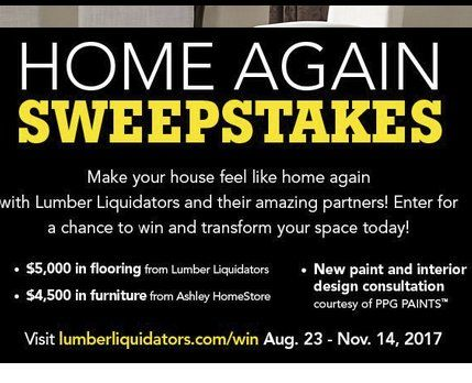 Enter to win a home makeover prize package worth $10,500.00 ...