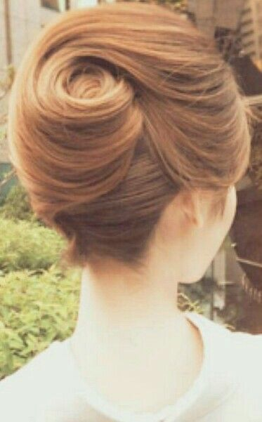 The Perfect Swirl French Twist French Twist Hair Hairdo
