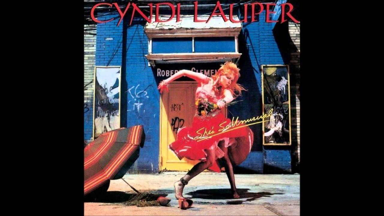 Cyndi Lauper All Through The Night (With images) Cyndi
