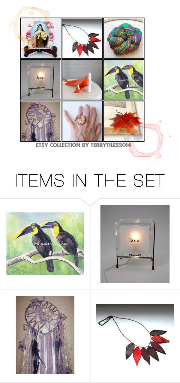 """Etsy Collection by TerryTiles - Volume 7"" by terrytiles2014 on Polyvore featuring arte"